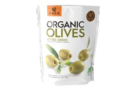 Organic Olives Pitted Green