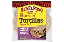 8 Tortilla Fullkorn Medium