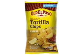 Crunchy Tortilla Chips Cheese
