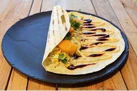 Corny Corn Wrap vegetarisk