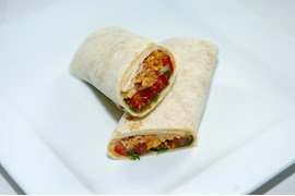 Chicken Curry Wrap