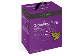 Scotts Creek Growling Frog Shiraz BIB