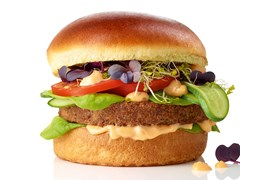 Grillet Vegetarburger