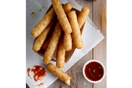 Mozzarella stick, beerbattered