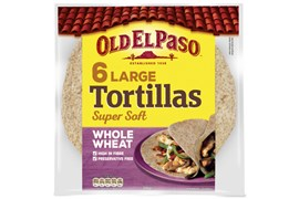 6 Tortilla Fullkorn Large