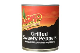 Grilled Sweety Peppers Whole