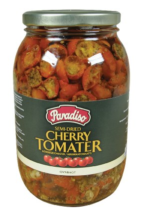 Semi-dried  Cherrytomater