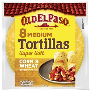 8 Corn Tortillas Medium