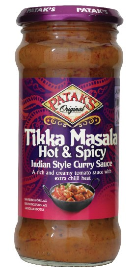 Cooking Sauce Tikka Masala Hot