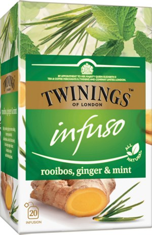 Infuso Rooib, Ginger&mint