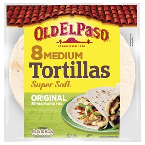 8 Tortilla Original Medium