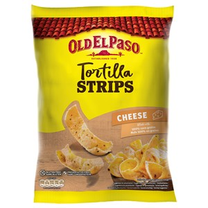 Crunchy Tortilla Strips Cheese