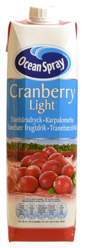 Cranberry Juice Light