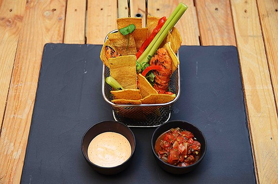 Crudite Buffalo Wings