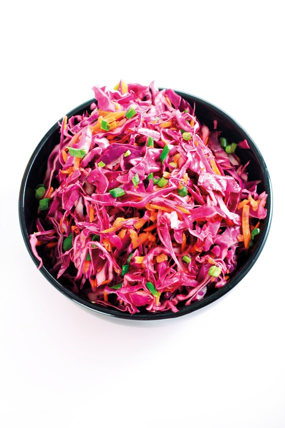 Sweet asian coleslaw