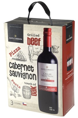 Santa Carolina Cellar Selection Cabernet Sauvignon BIB